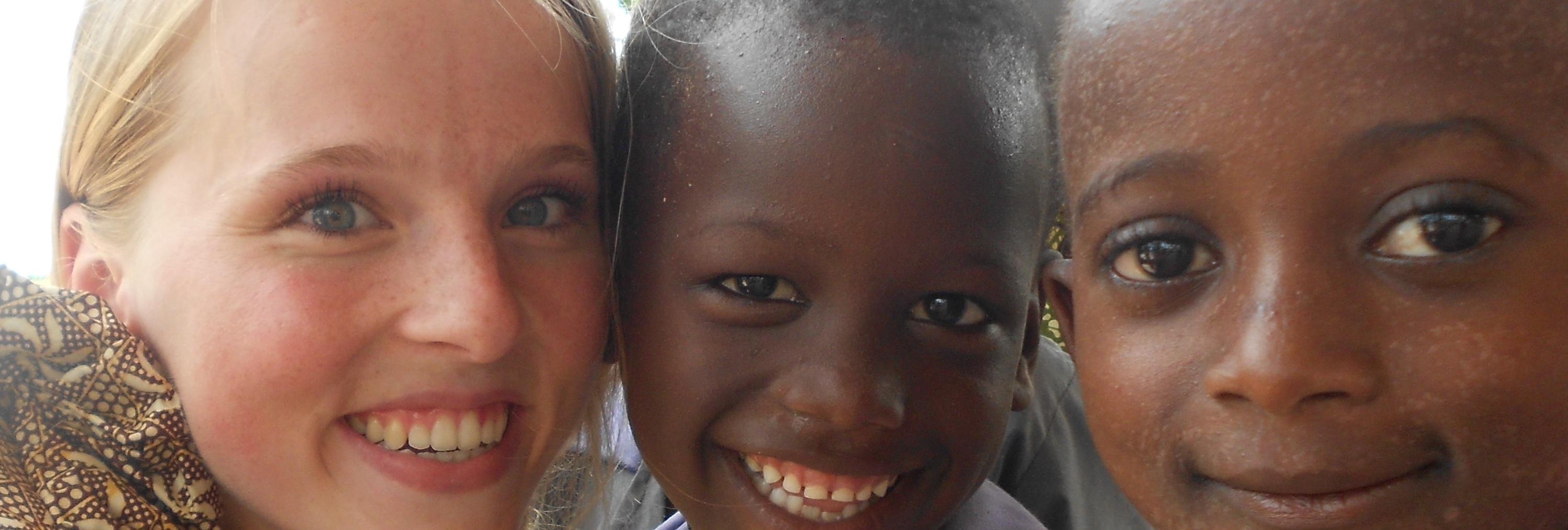 Vrijwilligers project onderwijs Gambia Afrika